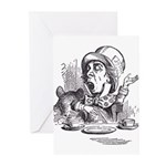 Mad Hatter Greeting Cards (Pk of 10)