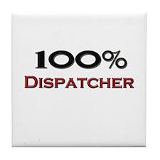 100 Percent Dispatcher Tile Coaster