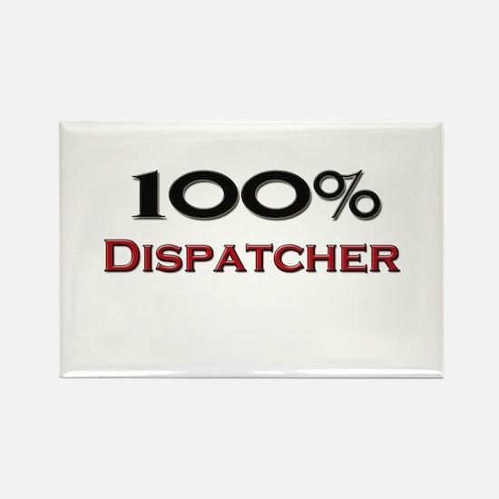100 Percent Dispatcher Rectangle Magnet
