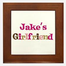Jake's Girlfriend Framed Tile