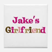 Jake's Girlfriend Tile Coaster