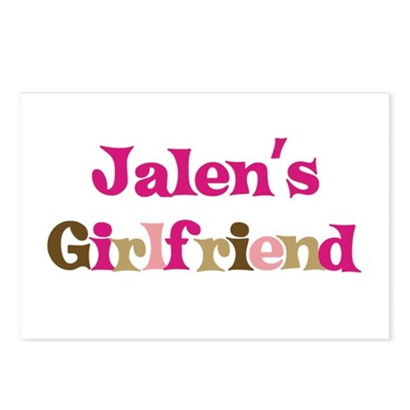 Jalen's Girlfriend Postcards (Package of 8)
