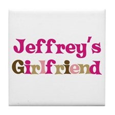 Jeffrey's Girlfriend Tile Coaster