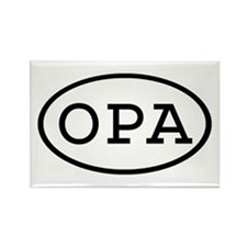 OPA Oval Rectangle Magnet
