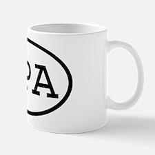 OPA Oval Mug