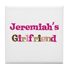 Jeremiah's Girlfriend Tile Coaster