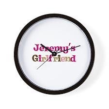 Jeremy's Girlfriend Wall Clock