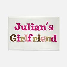Julian's Girlfriend Rectangle Magnet (10 pack)