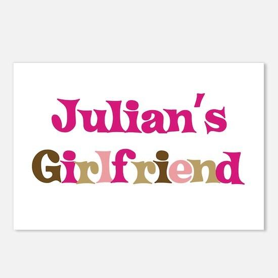 Julian's Girlfriend Postcards (Package of 8)