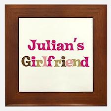Julian's Girlfriend Framed Tile