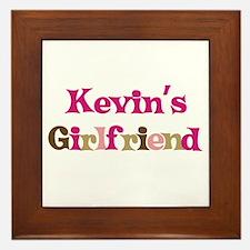 Kevin's Girlfriend Framed Tile