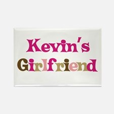 Kevin's Girlfriend Rectangle Magnet