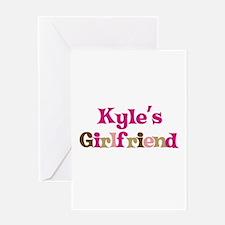 Kyle's Girlfriend Greeting Card