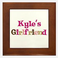 Kyle's Girlfriend Framed Tile