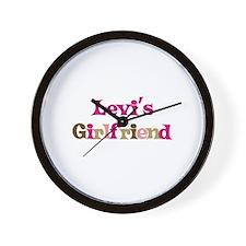 Levi's Girlfriend Wall Clock