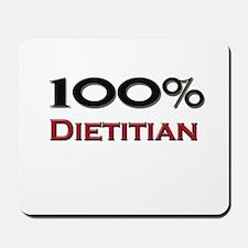 100 Percent Dietitian Mousepad