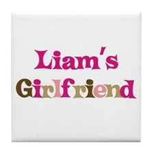 Liam's Girlfriend Tile Coaster