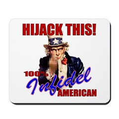 Hijack THIS! Angry American Mousepad
