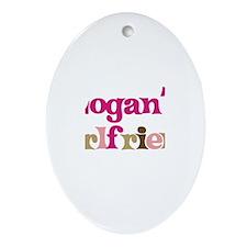 Logan's Girlfriend Oval Ornament