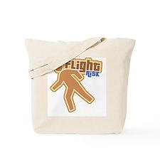 Retro Flight Risk Tote Bag