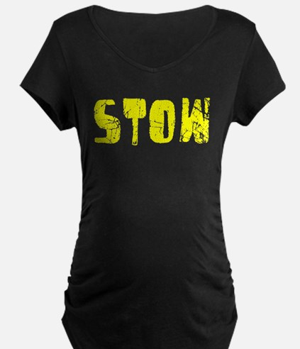 Stow Faded (Gold) T-Shirt