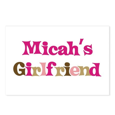 Micah's Girlfriend Postcards (Package of 8)
