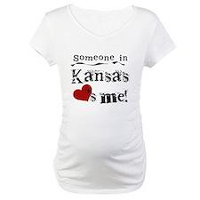 Someone in Kansas Shirt