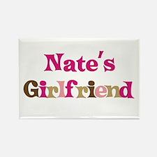 Nate's Girlfriend Rectangle Magnet