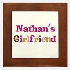 Nathan's Girlfriend Framed Tile