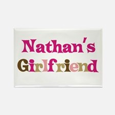 Nathan's Girlfriend Rectangle Magnet