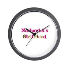 Nathaniel's Girlfriend Wall Clock