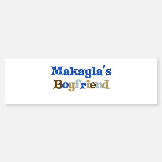Makayla's Boyfriend Bumper Car Car Sticker
