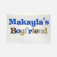 Makayla's Boyfriend Rectangle Magnet