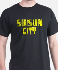 Suisun City Faded (Gold) T-Shirt
