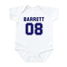 Barrett 08 Infant Bodysuit