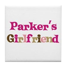 Parker's Girlfriend Tile Coaster