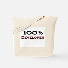 100 Percent Developer Tote Bag