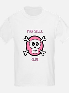 PINK SKULL CLUB T-Shirt