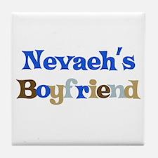 Nevaeh's Boyfriend Tile Coaster