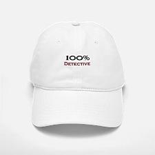 100 Percent Detective Baseball Baseball Cap