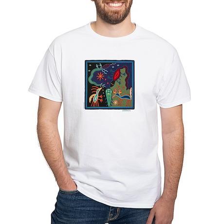 Huichol Art: 'Lizard Dreams' Unisex T-Shirt