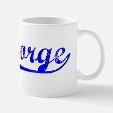 Vintage St George (Blue) Mug