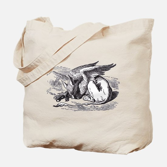 Sleeping Gryphon Tote Bag