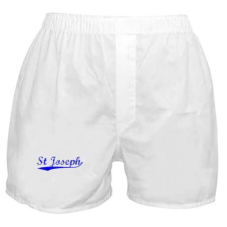 Vintage St Joseph (Blue) Boxer Shorts