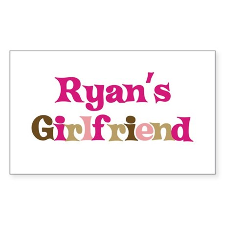 Ryan's Girlfriend Rectangle Sticker