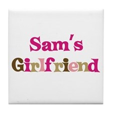 Sam's Girlfriend Tile Coaster