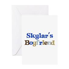 Skylar's Boyfriend Greeting Card