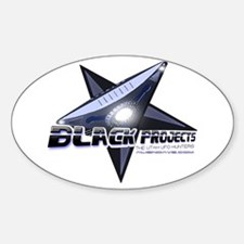 Black Projects Oval Decal
