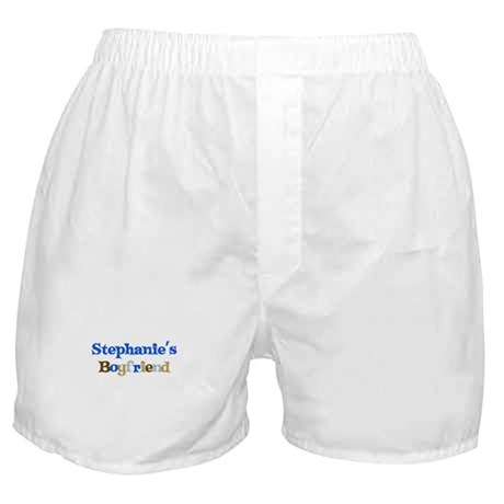 Stephanie's Boyfriend Boxer Shorts
