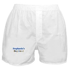 Stephanie's Boyfriend Boxer Shorts